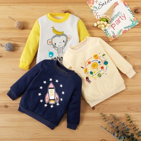 Baby Unisex Casual Pullovers