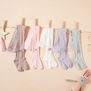 Baby / Toddler Solid Middle Stockings (Various colors)