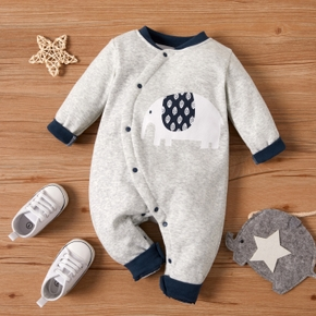 Baby Warm Animal Elephant Jumpsuit