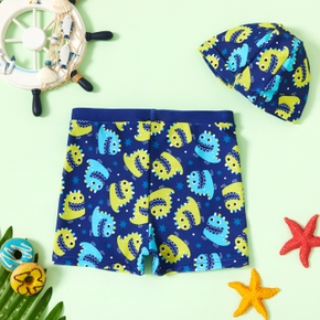 Toddler Boy Print Marine Animal Swimwear