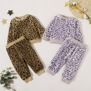 Baby Girl Leopard Baby's Sets