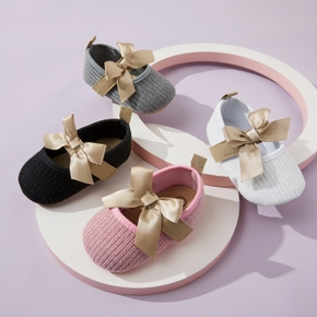 Baby / Toddler Bowknot Slip-on Prewalker Shoes
