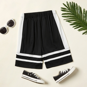 Color Block Athleisure Shorts for Toddlers / Kids