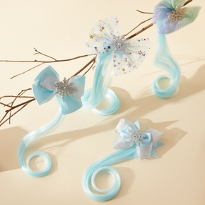 1-pack Snowflake Hairpin for Girls