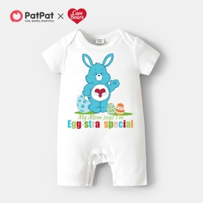 Care Bears Baby Boy/Girl Bunny Easter 100% Cotton Romper
