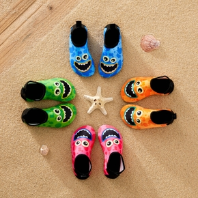 Multi Color Cartoon Print Athleisure Water Beach Shoes for Toddlers / Kids