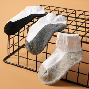 1-piece Toddler Colorblock Knitted Socks