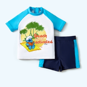 Smurfs Toddler Boy 2-piece Swimsuit Set
