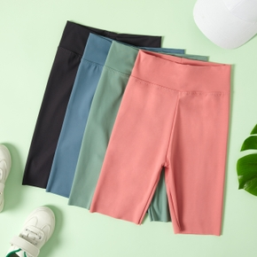 Solid Yoga Pants Shorts for Toddlers / Kids