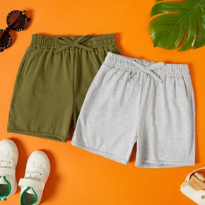 Toddler Boy Solid Casual Shorts