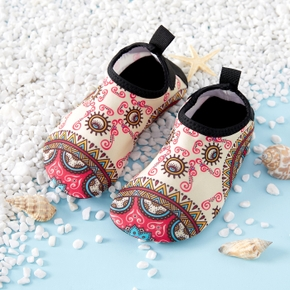 Boho Print Athletic Beach Water Shoes for Toddlers / Kids