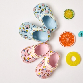 Toddler / Kid Cartoon Peach Ripped Sandals