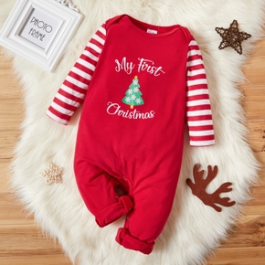 Baby Unisex Christmas Tree Jumpsuit