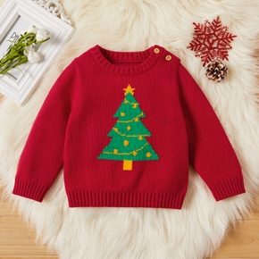 Baby Unisex Christmas Tree Sweaters