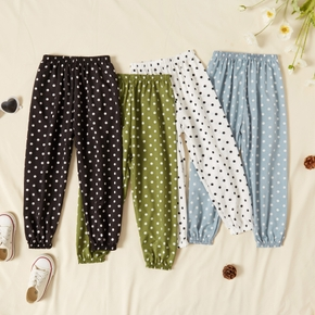 Toddler Girl Casual Polka dots Pants