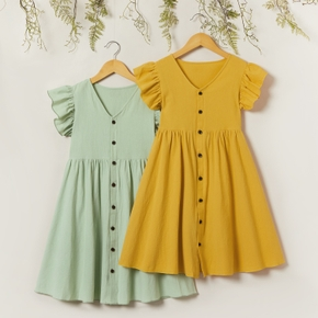 Kid Girl Sweet X Dress