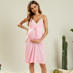 Maternity Vacation Print Nightgowns