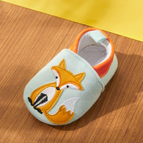 Baby Cartoon Fuchs allover Slip-on prewalker Schuhe