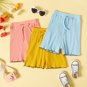 Toddler Girl Casual Solid Sporty Shorts