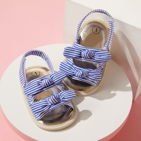 Baby / Toddler Striped Bowknot Sandals