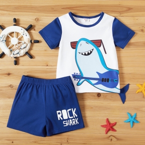 Toddler Boy Street Style Top and Shorts Sets