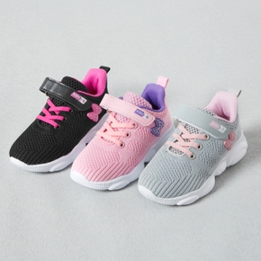 Velcro Closure Breathable Sports Shoes for Toddlers / Kids
