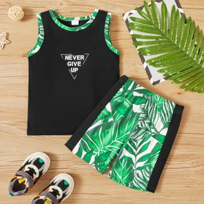 2-piece Toddler Boy Summer Camisole and Shorts Set