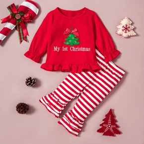 Baby Girl Sweet Christmas Tree Baby's Sets