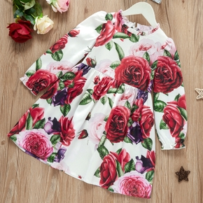 Kid Girl Floral Party Dress