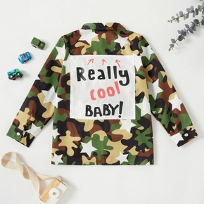 Kid Boy Camouflage & Stars Coat & Jacket