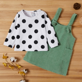 Baby Girl Polka Dot casual Suit-dress