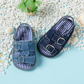 Toddler Solid Denim Sandals