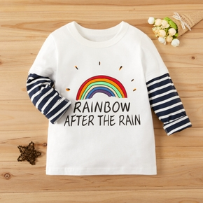 Baby / Toddler Cute Letter  Print Long-sleeve Tee