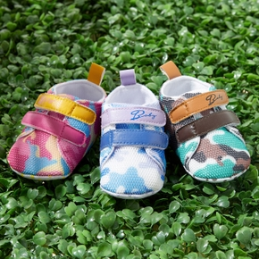 Baby / Toddler Camouflage Velcro Closure Prewalker Shoes