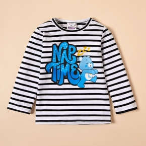 Care Bears Nap Time Cotton Striped Tee