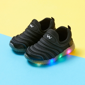 Toddler / Kid Solid LED Sports Shoes