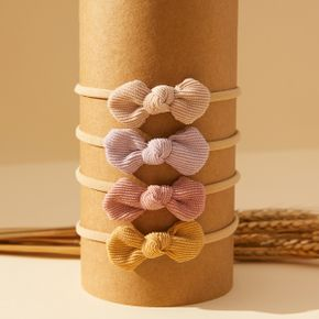 Pretty Bowknot Solid Hairband for Girls