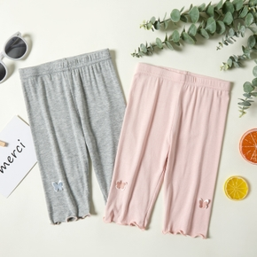 Butterfly Decor Athleisure Leggings for Toddlers / Kids