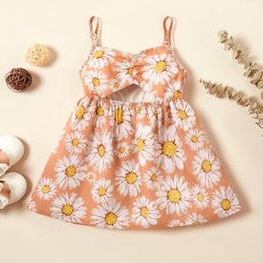 Baby Girl Sunflowers Vacation Dress