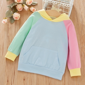 Baby / Toddler Colorblock Hooded Pullover