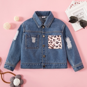Toddler Unisex Leopard Decor Cause Coats