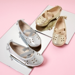 Toddler / Kid Solid Ripped Bowknot Shoes