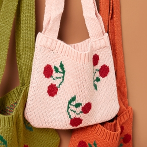 Baby / Toddler Cute Cherry Knitted Bag
