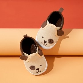 Baby Cartoon Canvas Slip-on Prewalker Shoes