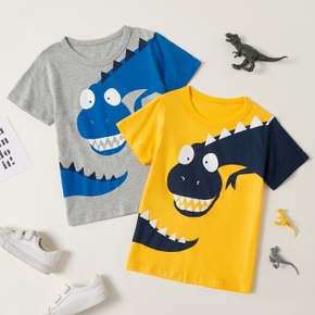 Stylish Kid Boy Dinosaur T-shirt