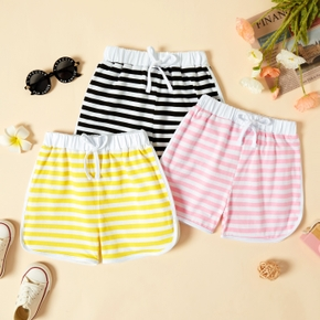 Toddler Girl Casual Sporty Stripe Shorts