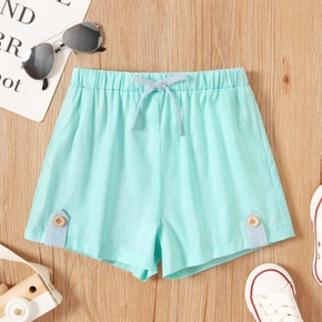 Toddler Boy Button Tight Shorts