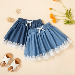Toddler Girl Casual Lace Skirt