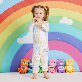 Care Bears Bedtime on The Moon Baby Long-sleeve Jumpsuit