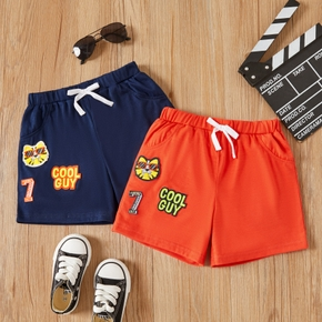 Toddler Boy Animal And Letter Print Shorts